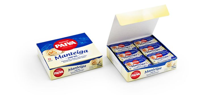 Gama manteigas Paiva #packaging #design #food #butter #hotels #restaurants #dose