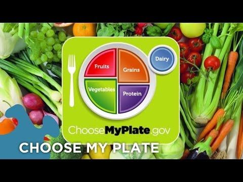 Choose My Plate Dietary Guidelines - YouTube