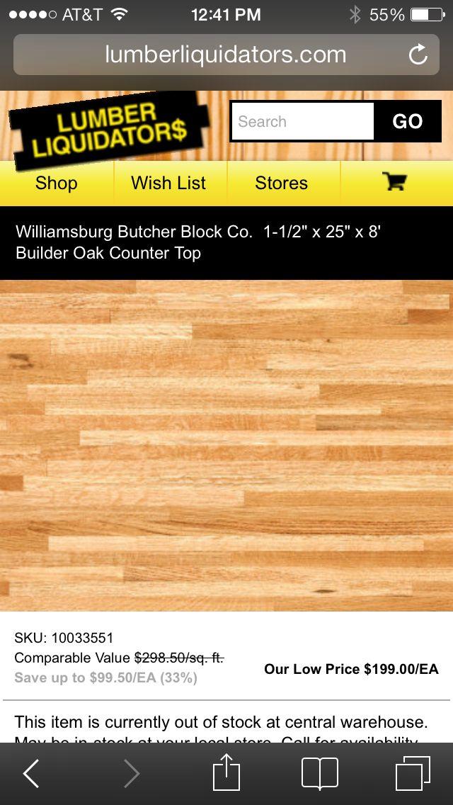 Kitchen Countertops Butcher Block Countertops Butcher Block Lumber Liquidators