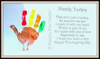 Fall Crafts for Toddlers: Handy Turkey