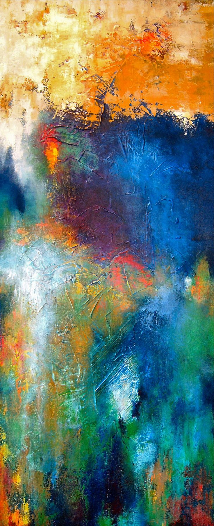 907 best obsessed with textured art images on pinterest for Textured acrylic abstract paintings