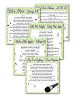 Printable Wedding Games | Bridal Shower Games - Funsational.com