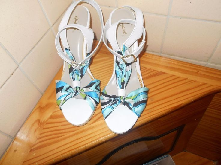 Quipid sz 10 Ankle Strap Paisley Print Wedges #Qupid #AnkleStrap #AnyOccasion