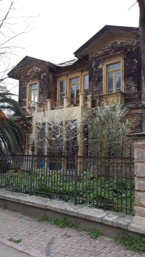 Istanbul old houses