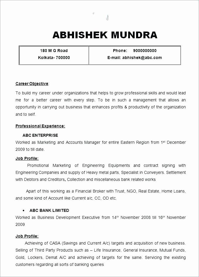 Social Media Marketing Contract Template Best Of Media Contract Template Social Media Manage Resume Objective Examples Job Resume Format Project Manager Resume