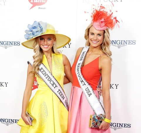 Caroline Ford and Katie George
