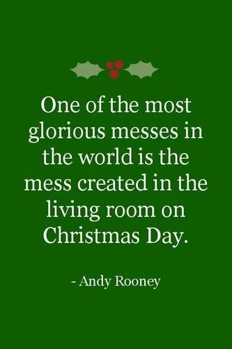 Christmas messes. Wonderful memories from each and every Christmas. Can't wait for this year.