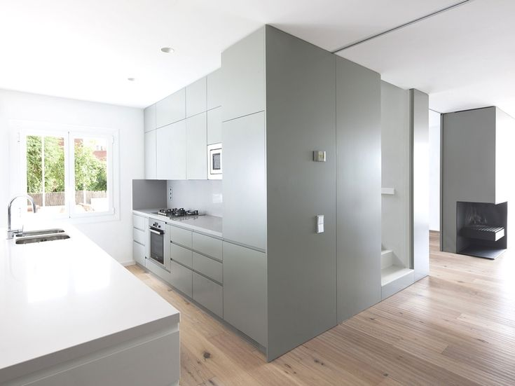 Contemporary Grey Kitchen 64 best kitchen - grey images on pinterest | kitchen grey, kitchen