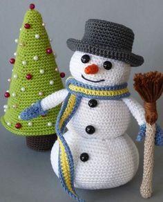 Süße Amigurumis für die Weihnachtszeit - Anleitung via Makerist.de