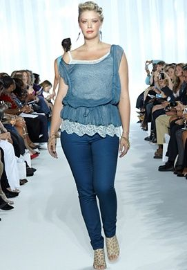 Plus Size Fashion....I need to see more of this. Not everyone is stick skinny