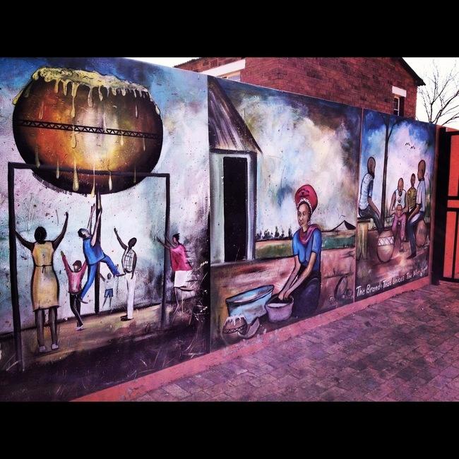 Street art of Soweto, South Africa. AFAR Highlight by Joe Diaz. #travel #Johannesburg #AFARExperiences