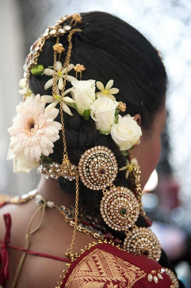 Wondrous Indian Bridal Hairstyles Indian Bridal And Bridal Hairstyles On Hairstyle Inspiration Daily Dogsangcom