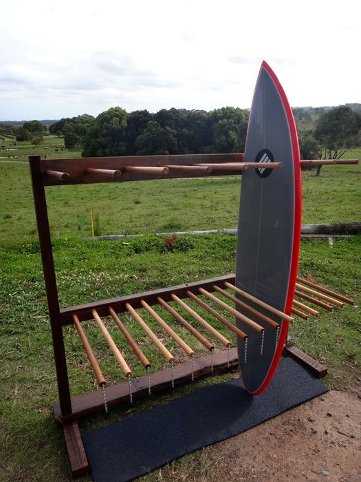DYI Vertical Surfboard Rack   Google Search