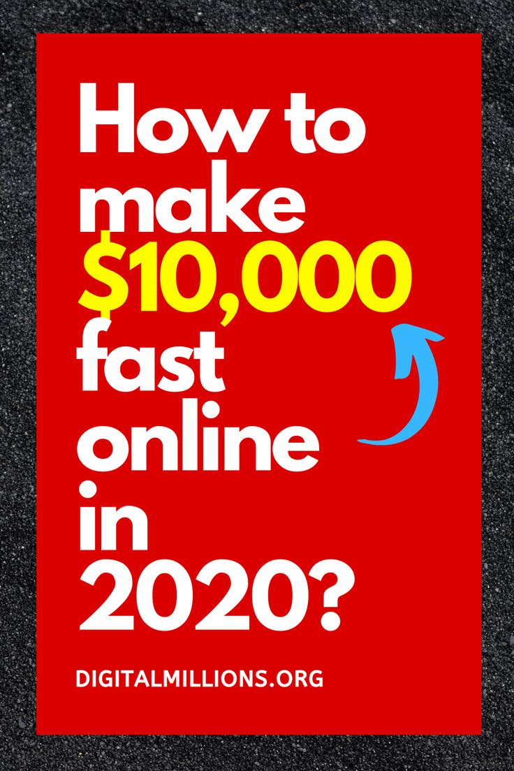 How to Make 10,000 Fast with Step By Step Instructions