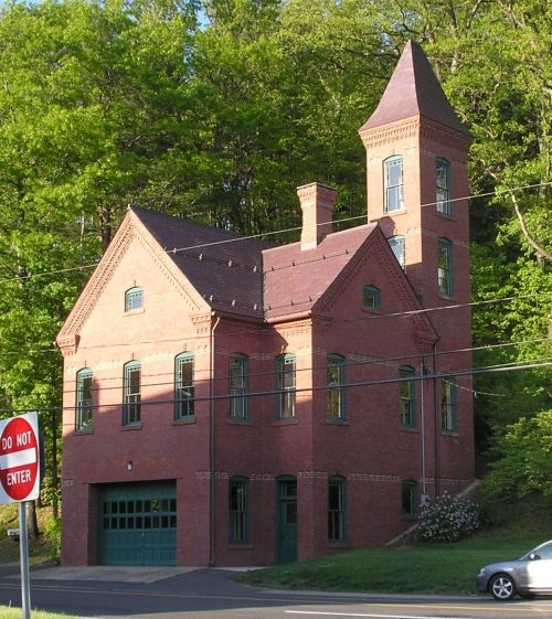Curtis Park Denver Real Estate: Tunxis Firehouse In Connecticut. Built In 1893--Queen Anne