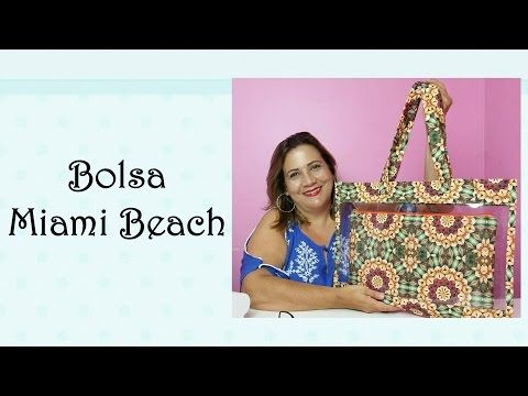 Patchwork - Bolsa Miami Beach - YouTube