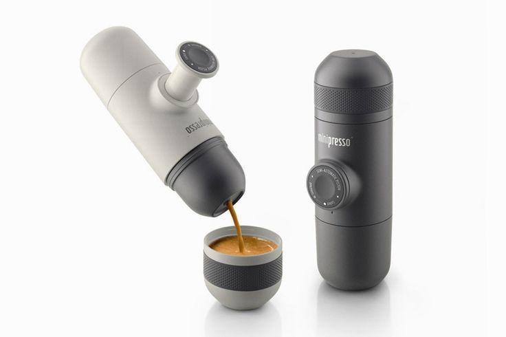 Hand-powered Portable Espresso Machine / Wacaco