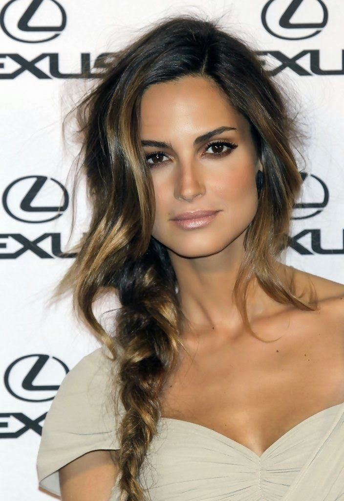 Sun-kissed Highlighted Brunette Balayage