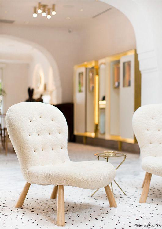 modern slipper chair