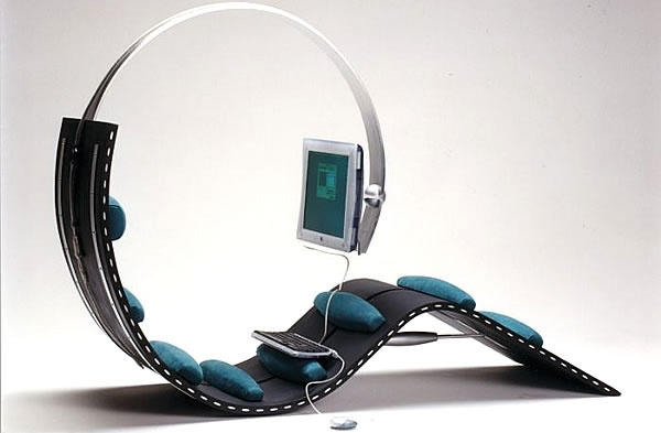 17 best images about computer chair on pinterest best computer chairs computer station and - Zero gee ergonomic workstation ...