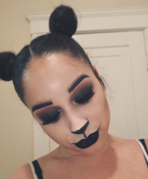 Best 20+ Panda Makeup Ideas On Pinterest | Halloween Facepaint Kids Zebra Face Paint And Boys ...