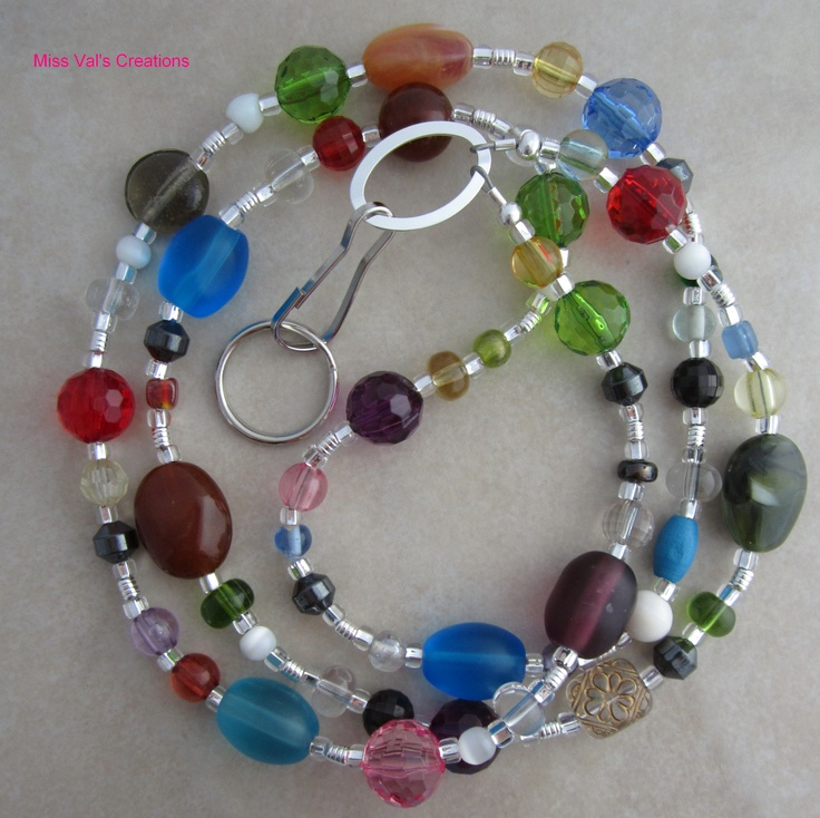Id Card Beads: 17 Best Images About How To Make Lanyards On Pinterest