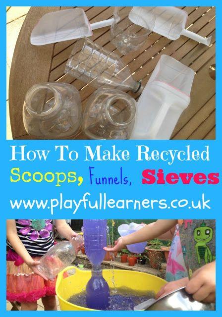 Über 25 Ideen für Recycling- oder Upcycling-Spaß beim Spielen im Freien – mehr dazu bei Mama …   – Dark horse games