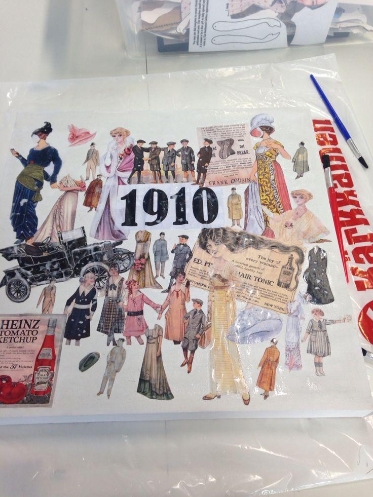 1910 Paperinukkekollaasi