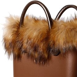 Faux Murmansky Fur Trim - Natural - an O bag MINI Accessory