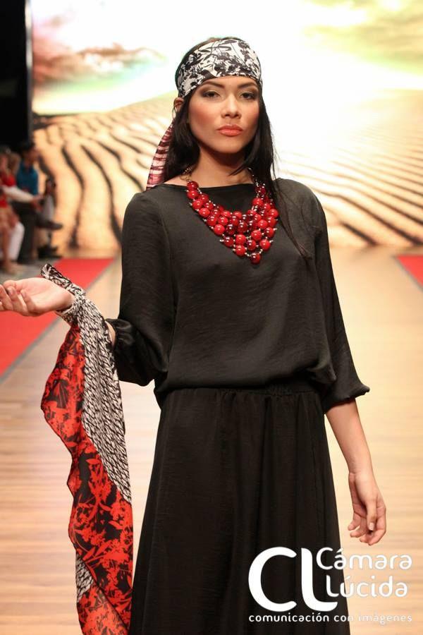 Collar Dulce rojo Alejandra Valdivieso accesorios para mujer