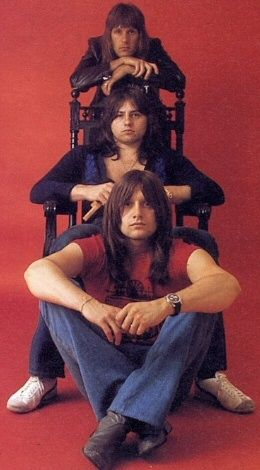 Emerson Lake & Palmer: Keith Emerson, Greg Lake and Carl Palmer.......ONE OF MY FAVORITE BANDS