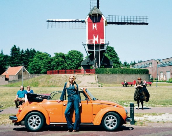 Lara Stone returns to The Netherlands - photo by Angelo Pennetta for T Magazine Travel Fall 2011