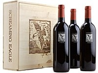 Screaming Eagle Wine - The 3 pack lets you triple your pleasure!  Approximately $2400, if you can find it!
