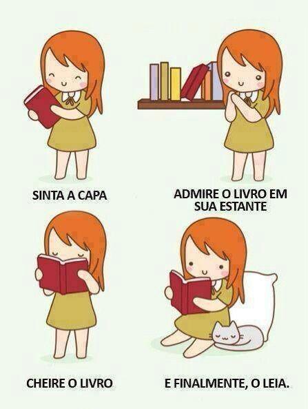 Sempre que compro ou ganho um livro faço isso.