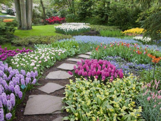 Lovely: Gardens Design Idea, Spring Gardens, Backyard Idea, Backyard Design, Gardens Paths, Gardens Idea, Decoration Idea, Gardens Ready, Landscape Idea