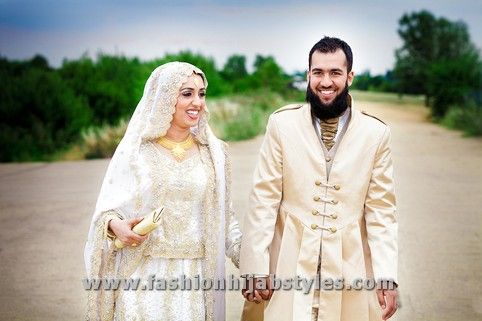 Hijab wedding styles | New, Modern Fashion Styles for Hijab Girls ...
