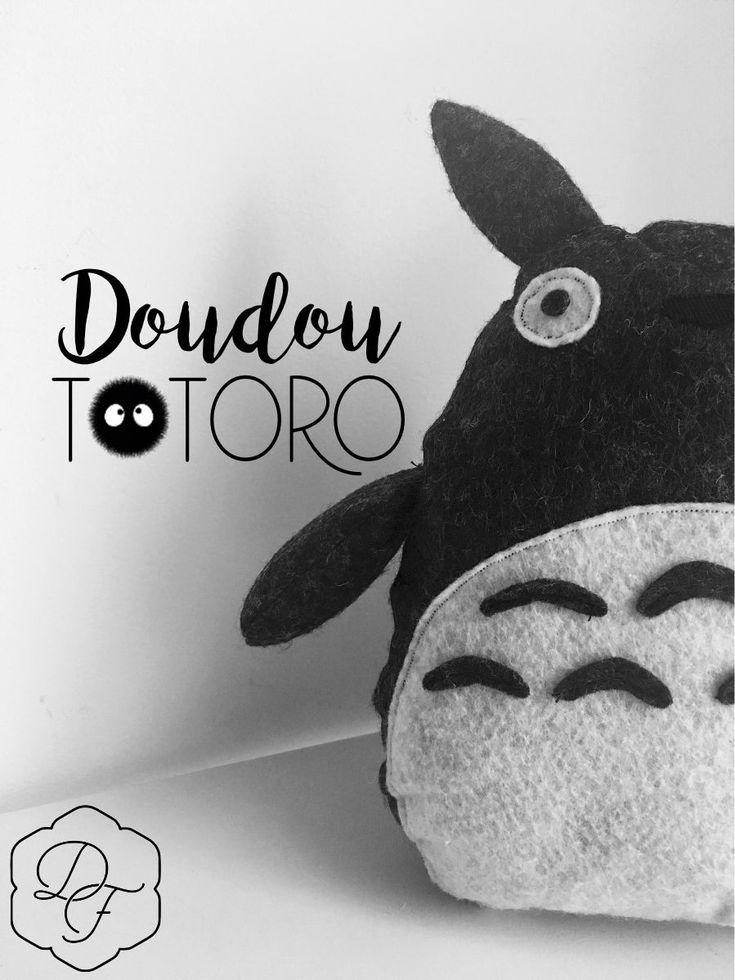Doudou Totoro en feutrine ! (couture)