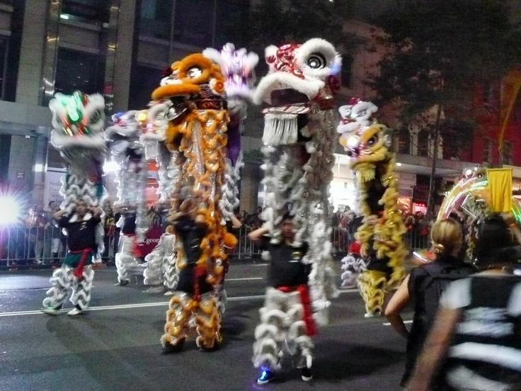 2012 Chinese New Year parade, Sydney NSW