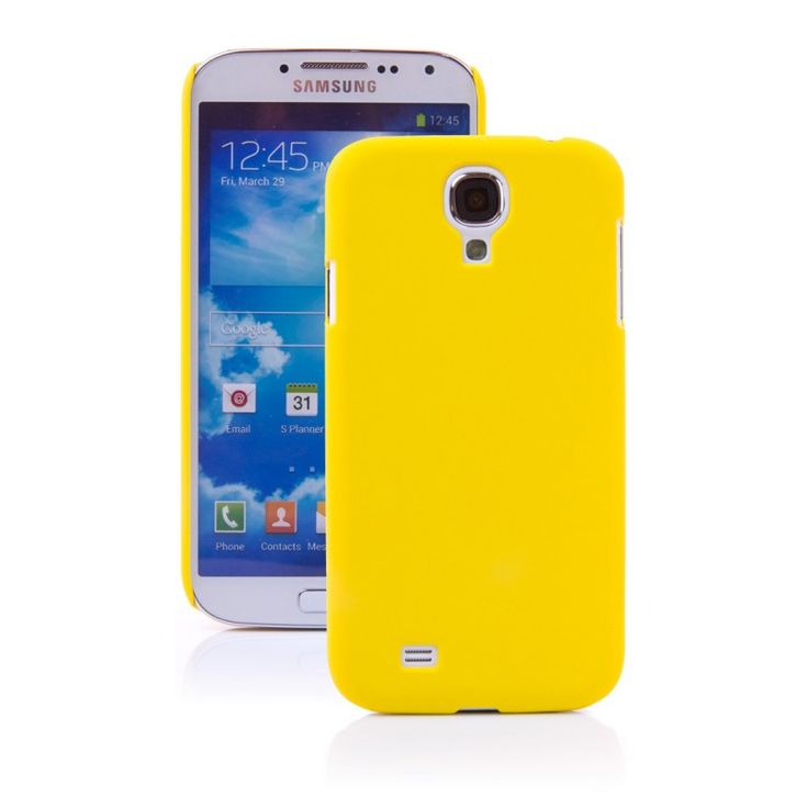 NewWay Soft Mat [Yellow], Etui dla GALAXY S4