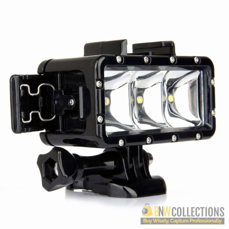 Buy WaterProof LED Light For Gopro on Sale!!! At Rs.2,500 Features >> The Light Will Always Brighten Up Your Footage, Easy To Use Gadget. Cash on Delivery In All Over Pakistan, Hassle FREE To Returns Contact # (+92) 03-111-111-269 (BnW) Email :- info@bnwcollections.com #BnWCollections #WaterProof #LED #Light #Gopro