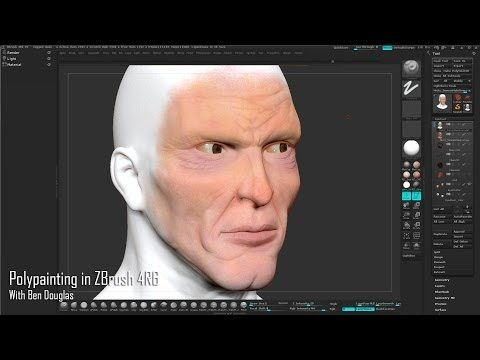 Polypainting in ZBrushComputer Graphics & Digital Art Community for Artist: Job, Tutorial, Art, Concept Art, Portfolio
