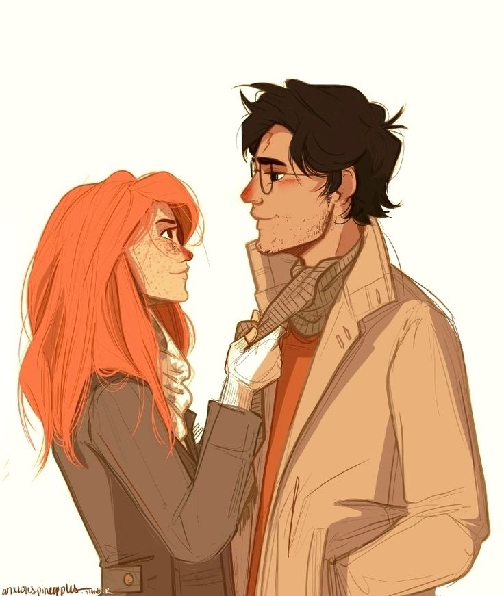 Harry Potter and Ginny Weasley by anxiouspineapples