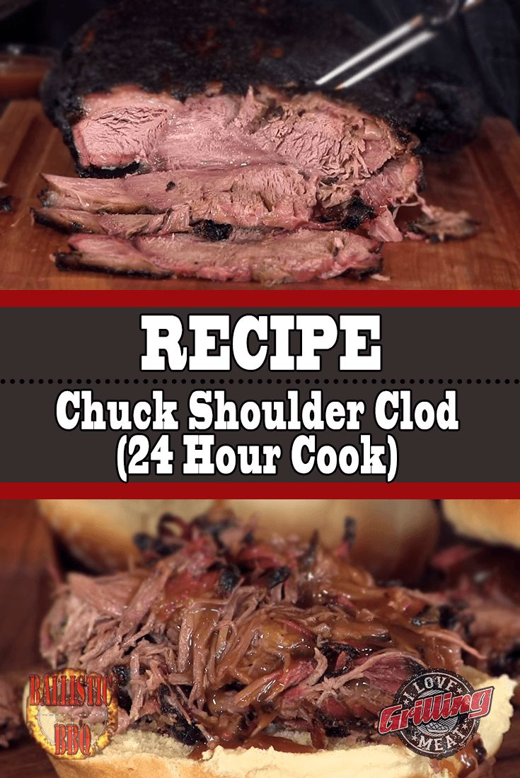 Chuck Shoulder Clod Recipe (24 Hour Cook)