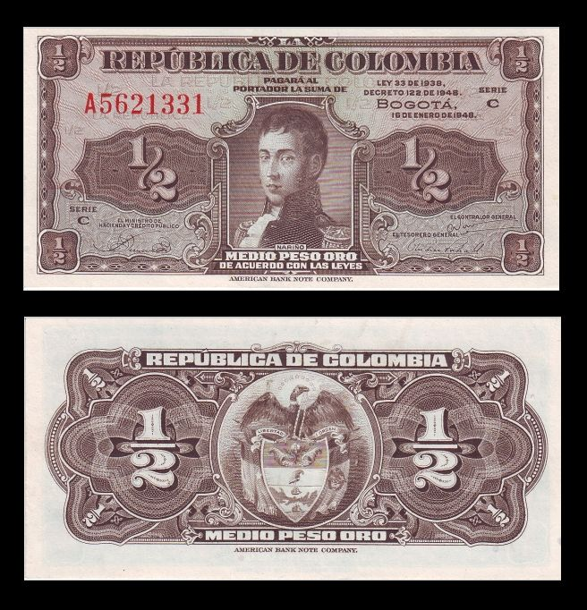 Monedas De Colombia - Numismática