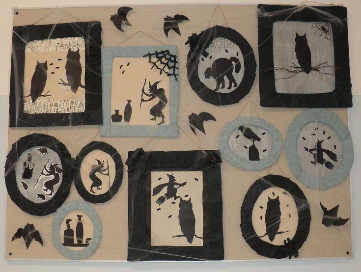 """Čarodějnice - """"fotogalerie"""" (Witch - decoration)"""