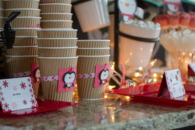 hot cocoa bar for winter onederland party by Mom of C^4, via Flickr