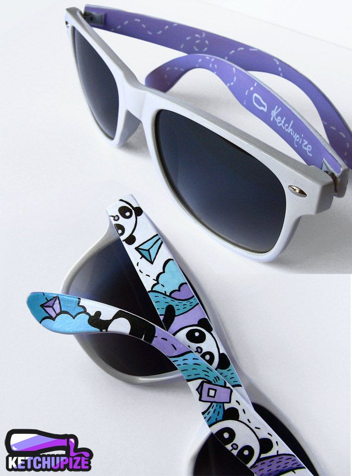 Custom Ray Ban Style Sunglasses