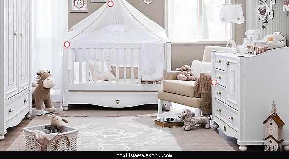 Lazzoni mobilya bebek odası 2016 - http://www.mobilyaevdekoru.com/lazzoni-mobilya-bebek-odasi-2016/
