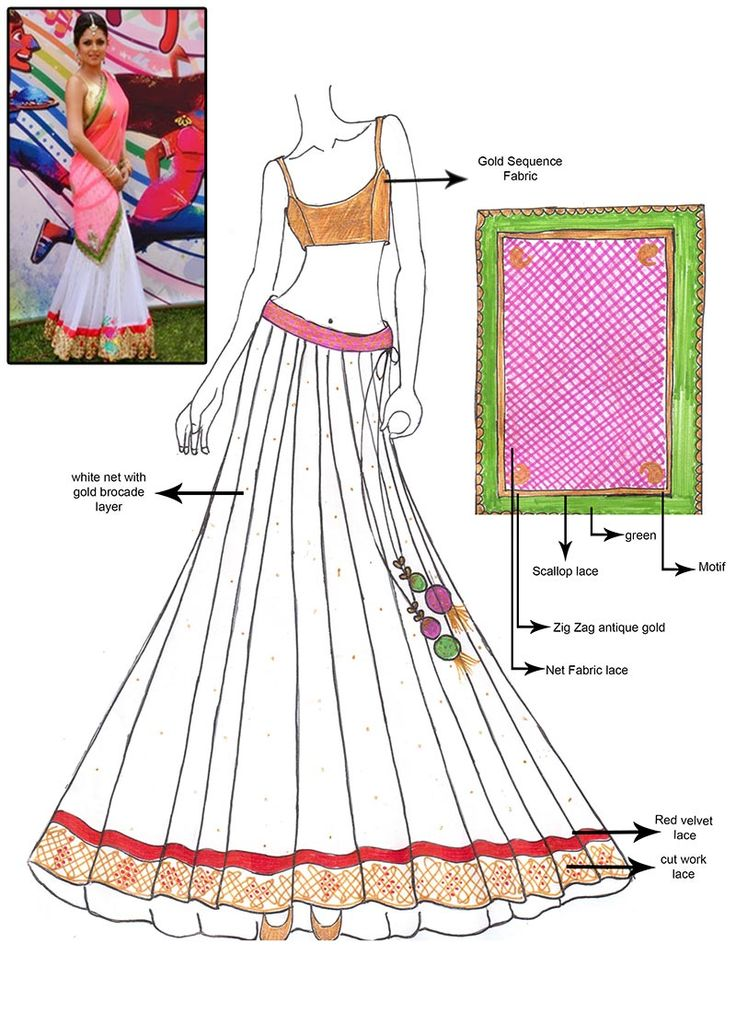 DIY #Madhubala White #Lehenga #Choli Don't like the dupatta, would Probably take a solid colour with it