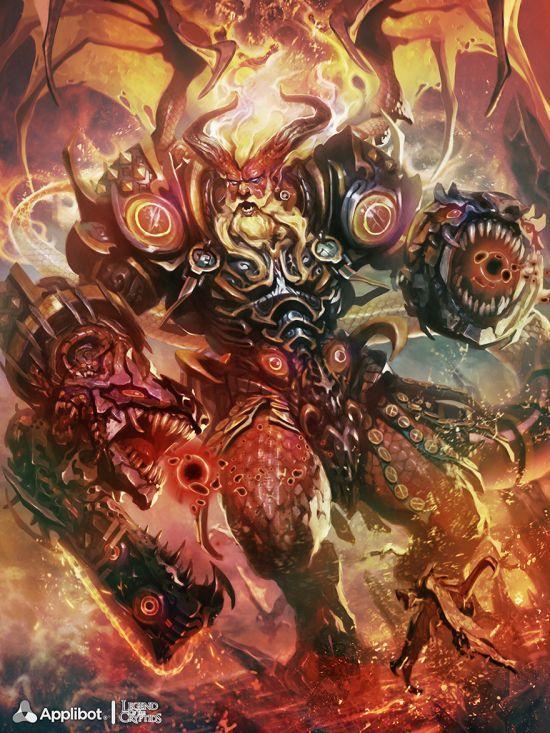 Reynan Sanchez ilustrações fantasia games Tático de fogo